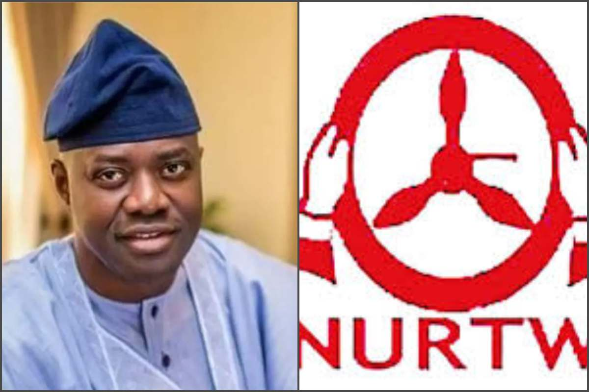 Image result for Governor Makinde bans NURTW, takes over motor parks in Oyo state