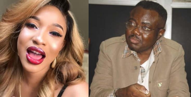 Tonto Dikeh blasts Actor Guild of Nigeria chairman, Ifeanyi Dike