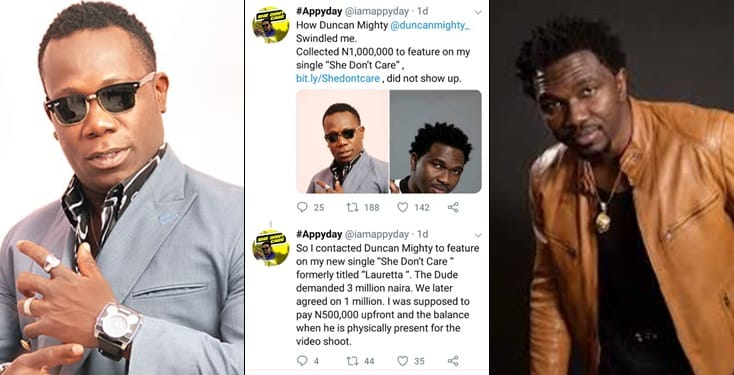 Duncan Mighty Swindled Me Of N1m- AppyDay