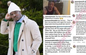 'I Am Richer Than Your Father' – Jaywon Slams Troll