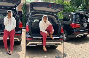 Regina Daniels Gets A Brand New Mercedes-benz