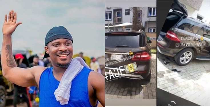 Jaywon gifts himself a Mercedes Benz ML350 to celebrate birthday
