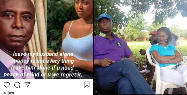 4th Wife Of Ned Nwoko Warns Regina Daniels To Leave Her Husband Alone