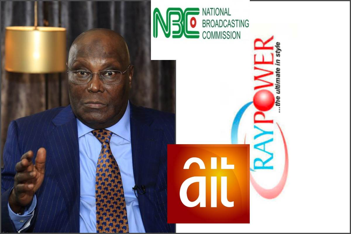 Atiku reacts to NBC's shutdown of AIT and Ray power - lailasnews