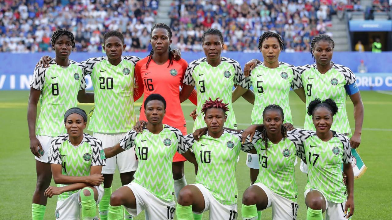 Image result for Super Falcons qualify for World Cup Round of 16