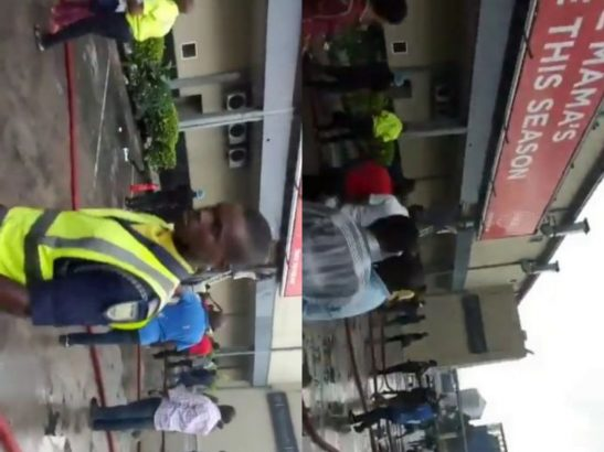 Gas explosion rock Spar shopping mall in Port Harcourt (Video)