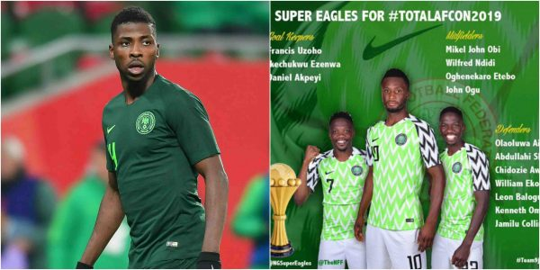 Iheanacho dropped from Nigeria's 23-man squad to AFCON lailasnews 3