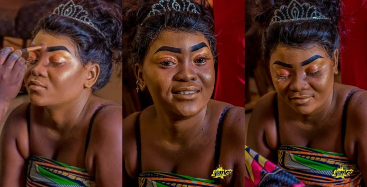 Lady reveals what a makeup artist did to her sister (photos)