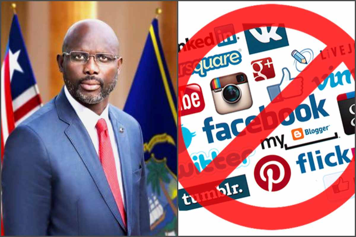 Liberia government blocks access to social media following protests against the President - lailasnews
