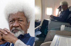 Prof. Wole Soyinka speaks up on the Aircraft Seat Controversy - lailasnews