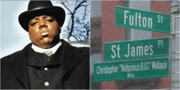 Street named after Notorious B.I.G in Brooklyn lailasnews 3