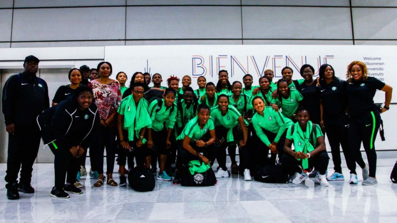 Super Falcons protest over unpaid bonuses, refuse to leave hotel in France - lailasnews
