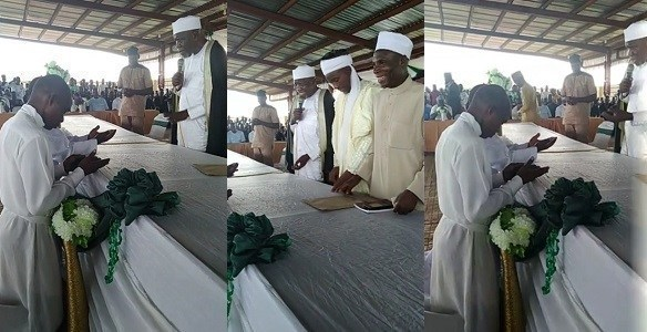 Two pastors accept Islam during Ramadan lecture in Ogun State (Photos) - lailasnews