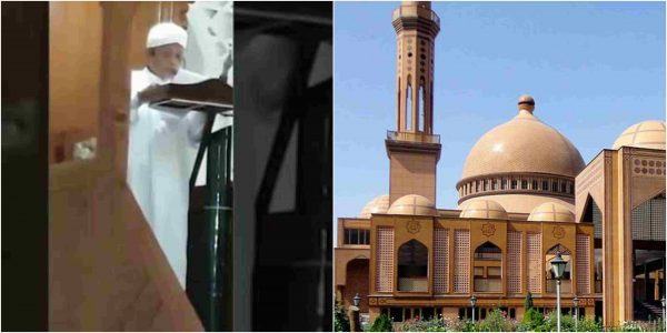 Video Imam passed away on pulpit while delivering Jumat lecture lailasnews 3