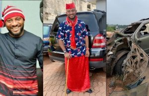 Yul Edochie gives his life to Christ, after surviving a ghastly auto crash