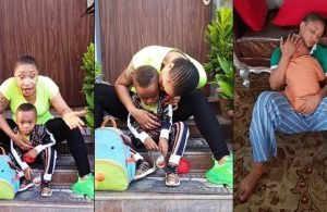 Tonto Dikeh curse troll who called her son a 'product of 40 seconds'