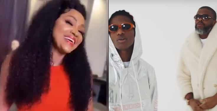 Wizkid and Larry Gaaga's song turns me on – Mercy Aigbe
