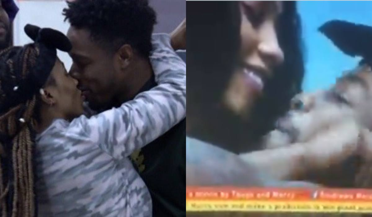 #BBNaija: Mercy and Ike settle less than 24 hours after fight (Video)