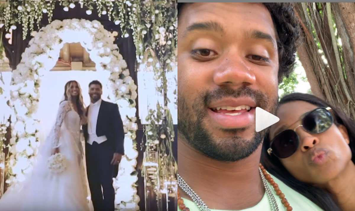 Ciara and Russell Wilson celebrate their 3rd wedding anniversary
