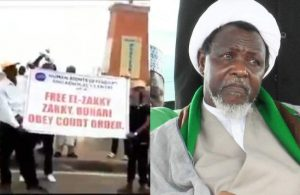 Shiites protest for the release of El Zakzaky in Lagos State (Video)