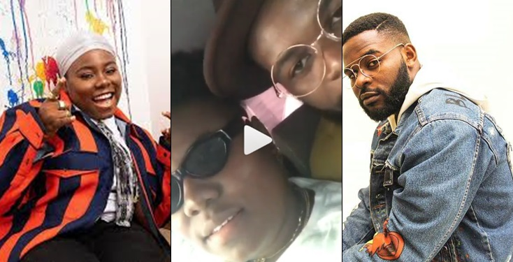 'I have so much feelings for you'- Falz tells Teni