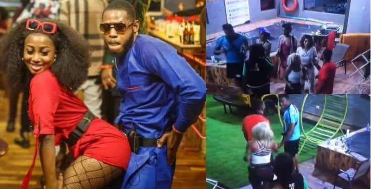 BBNaija: Frodd and Sir Dee pull a birthday prank on Esther (video)