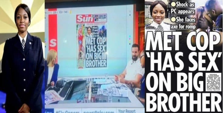 BBNaija Watch video of Sky News UK Presenters discussing Khafi's sex in the house
