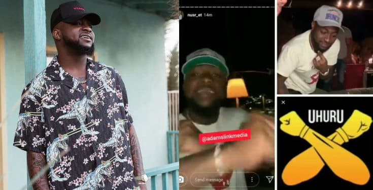Davido reassures his loyalty to AYE Black Axe confraternity (video)