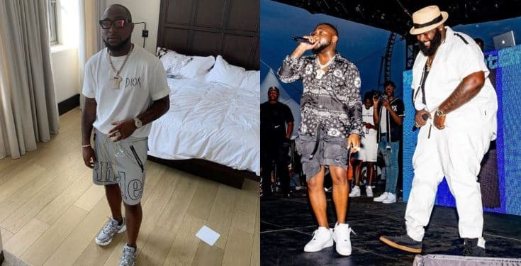 Image result for Davido reveals how Spesh hooked him up with D'banj