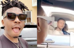 Mayorkun leaves fan stunned while in Lagos traffic (Video)