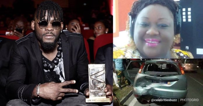 Image result for Dj Arafat: Photo of the lady whose car killed the singer