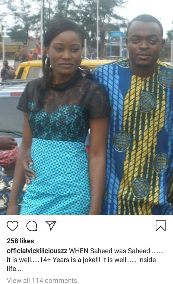 Actor Yomi Gold's wife heartbroken as he dumps her for another lady