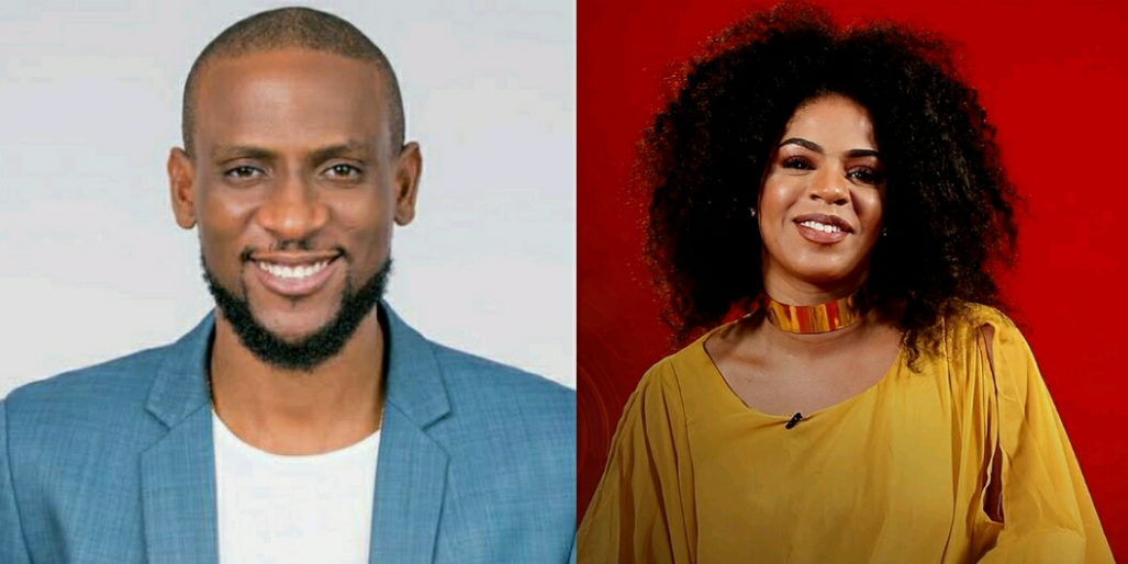 Image result for Omashola gets erection playing with female housemates
