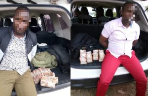 Police officers arrested with cash worth N254 million after ATM robbery (photos)