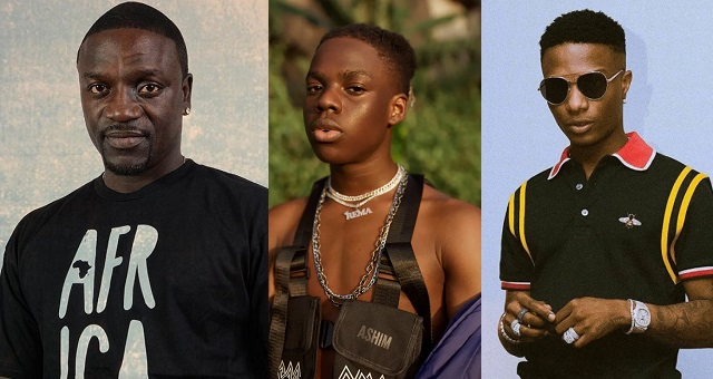 Image result for Akon showers praises on Rema, says he reminds him of Wizkid
