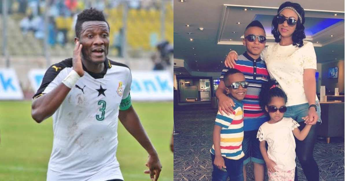 Asamoah Gyan ordered to pay £18,450.74 to his estranged wife as maintenance fee