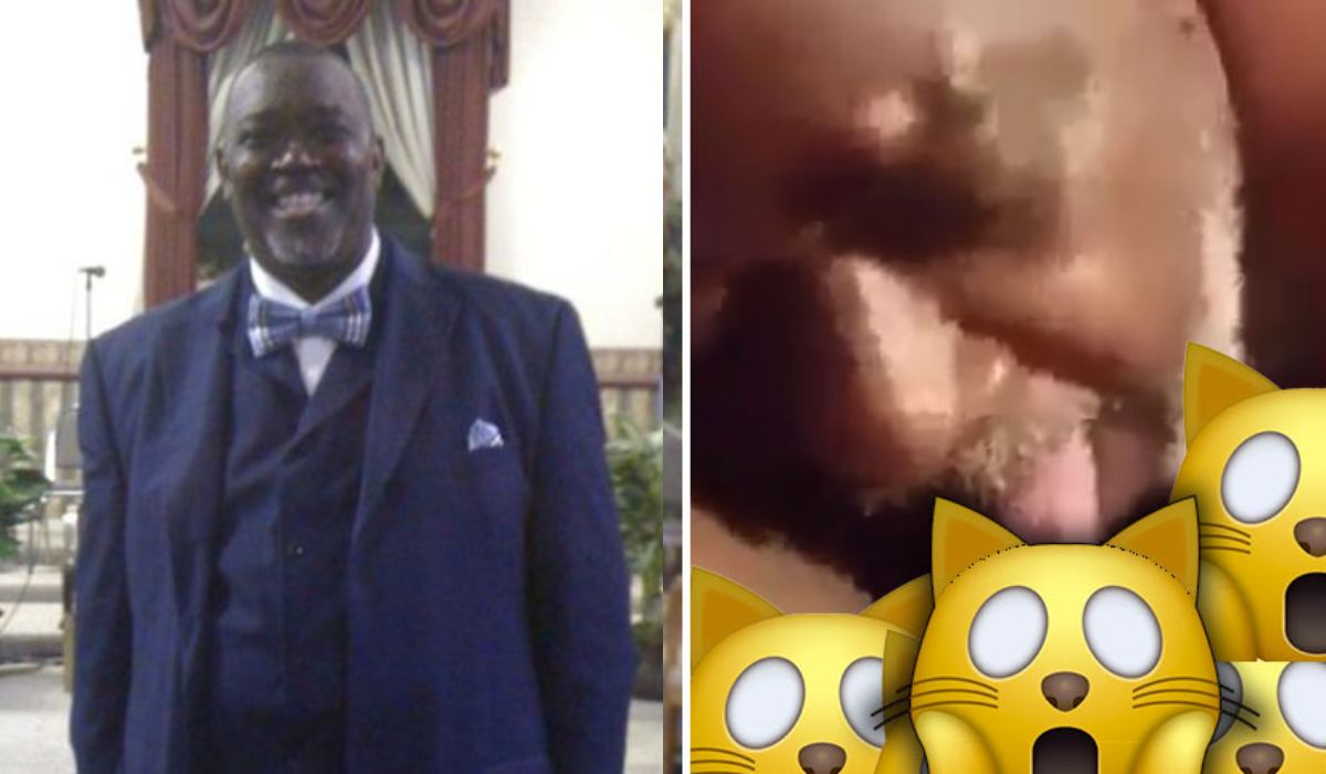 Sextape video of married Pastor Wilson goes viral on the internet