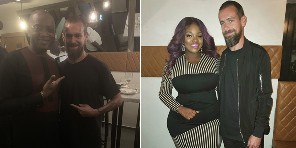 Twitter co-founder and CEO, Jack Dorsey arrives Nigeria (video & photos)