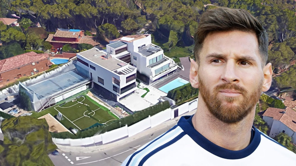 """Image result for Airplanes banned from flying over Lionel Messi's house"""""""