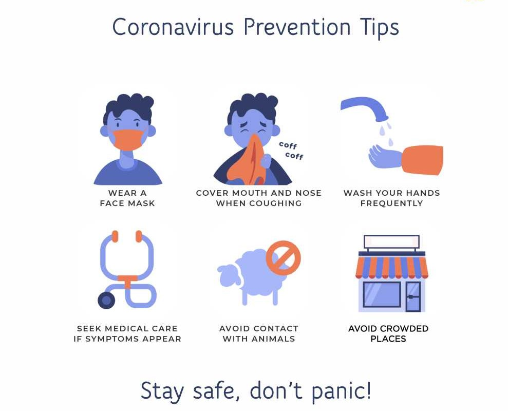 Tips on how to prevent Coronavirus infection