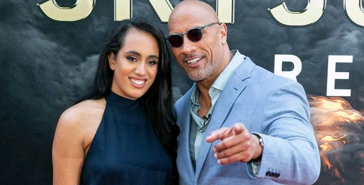 The Rock Johnson's daughter Simone Johnson