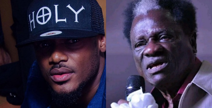 Tuface Idibia reacts to the death of Veteran musician, Victor Olaiya