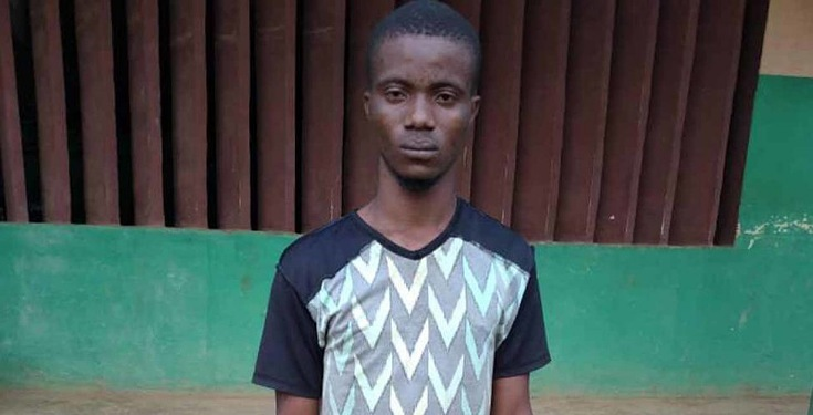 Deadly Aiye Confraternity Kingpin Arrested In Lagos (Photo)