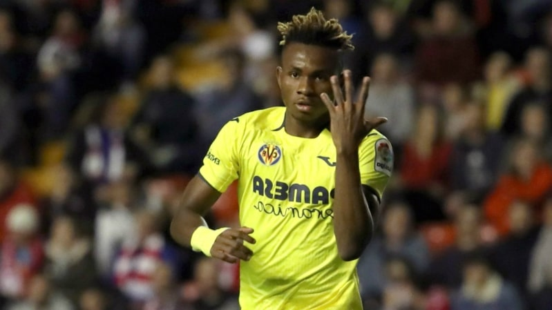 Liverpool made January offer for Villarreal star Samuel Chukwueze