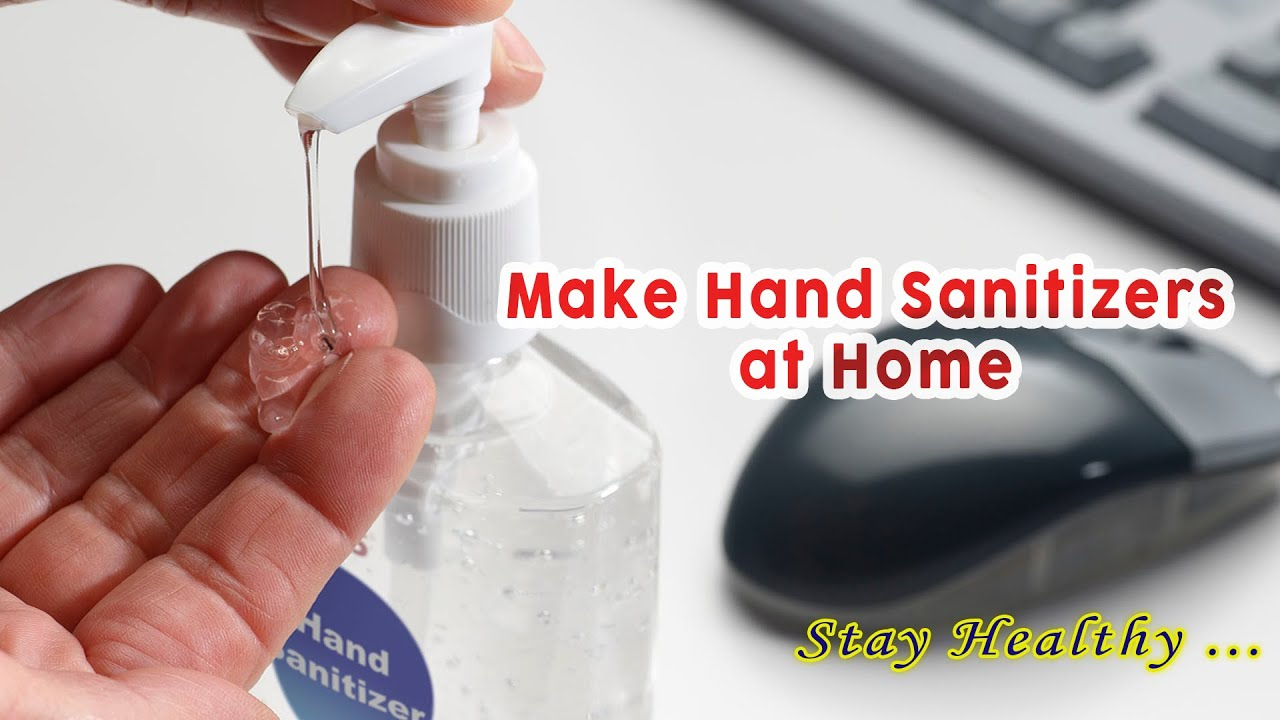 How To Produce Hand Sanitizers In Nigeria 2020